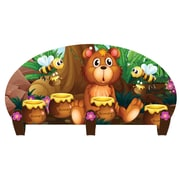 Next Innovations Honey Bear 3 Hook Coat Rack