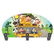 Next Innovations Zoo Bus 3 Hook Coat Rack