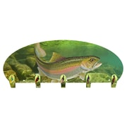 Next Innovations Rainbow Trout 5 Hook Wall Mounted Coat Rack