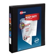 Avery Heavy-Duty 1-Inch EZD 3-Ring View Binder, Black (79-699)