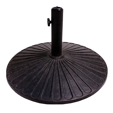 California Outdoor Designs Coneflower Cast Iron Free standing Umbrella Base