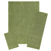 Maples Rugs Claire 3 Piece Moss Green Area Rug Set