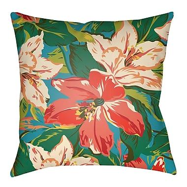 Artistic Weavers Lolita Dahlia Indoor/Outdoor Throw Pillow; 20'' H x 20'' W