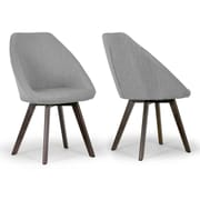 Glamour Home Decor Alda Arm Chair (Set of 2)