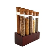 Gute Kitchen 10 Test Tubes Free-Standing Spice Rack