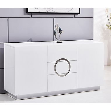 BestMasterFurniture Modern 3 Drawer Accent Cabinet