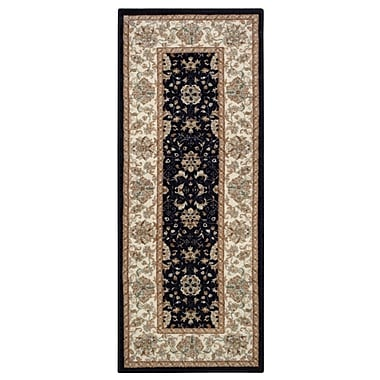 Essential Home Cordura Black Accent Rugs Price Tracking