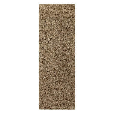 Maples Rugs Claire Maverick Brown Area Rug; Runner 2' x 6'
