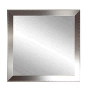 BrandtWorksLLC Embossed Steel Square Wall Mirror