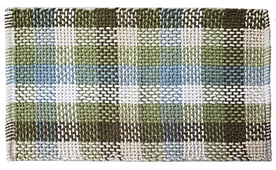 Ess Ess Exports Carson Hand-Woven Silver/Sage Indoor Area Rug