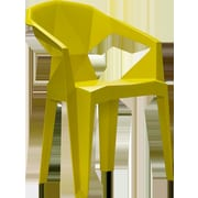 MiEN Stacking Chair; Mustard