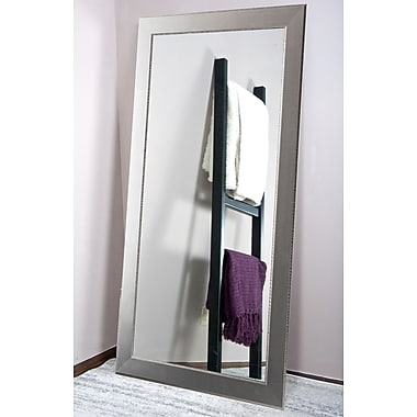American Value Silver Elements Tall Vanity Wall Mirror