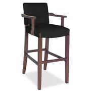 Tory Furniture Divine Bar Stool; Found Black