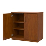 Marco Group Mobile CaseGoods 2 Door Storage Cabinet; Fusion Maple