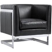 Sunpan Modern Club Soho Arm Chair; Black Nobility