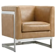 Sunpan Modern Club Soho Arm Chair; Peanut Nobility
