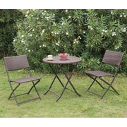 A&J Homes Studio Braemar Outdoor 3 Piece Bistro Set