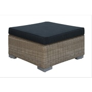 A&J Homes Studio Harvey Outdoor Ottoman w/ Cushion