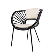 David Francis Furniture Aura  Arm Chair; Steel Gray