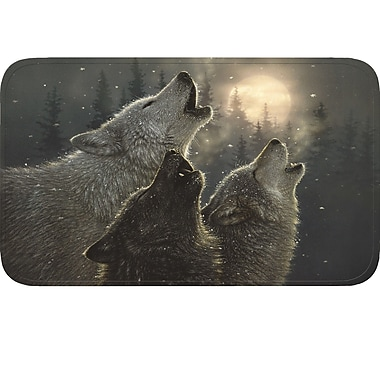 River's Edge Products Wolves Doormat