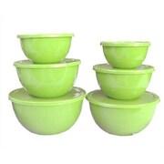 Reston Lloyd Calypso Basics 12 Piece Bowl Set in Lime
