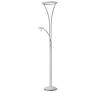 Radionic Hi Tech Rowtridia 73'' LED Task Floor Lamp; White