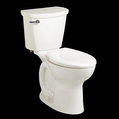 American Standard Cadet 1.6 GPF Round Two-Piece Toilet; White
