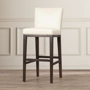 Sunpan Modern Marten 30'' Bar Stool; Cream