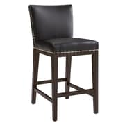 Sunpan Modern 5West 26'' Vintage Bar Stool w/ Cushion; Brown