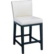 Sunpan Modern 5West 26'' Vintage Bar Stool w/ Cushion; Cream