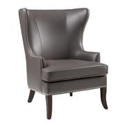 Sunpan Modern 5West Royalton Arm Chair; Grey