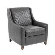 Sunpan Modern 5West Bergamo Arm Chair; Ash Grey