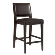 Sunpan Modern 5West 26'' Citizen Bar Stool w/ Cushion; Brown