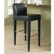 Sunpan Modern 5West Oriana 30'' Bar Stool w/ Cushion; Brown