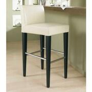 Sunpan Modern 5West Oriana 26'' Bar Stool w/ Cushion; Cream