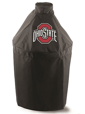 Holland Bar Stool Officially Licensed Kamado Style Grill Cover; Ohio State