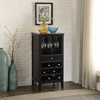 Homestyle Collection Cabernet 12 Bottle Floor Wine Cabinet