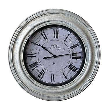 Jeco Inc. Vanilla 30.7'' Wall Clock