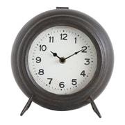 Creative Co-Op Collected Notion Metal Mantel Clock