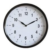Creative Co-Op Urban Homestead Round Metal 12'' Wall Clock