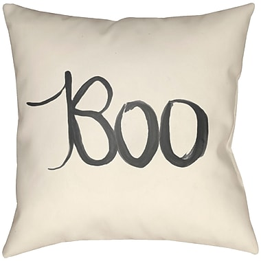 Artistic Weavers Lodge Cabin Boo Indoor/Outdoor Throw Pillow; 22'' H x 22'' W