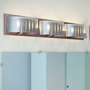 Varick Gallery Saladino 6-Light Bath Bar; Warm Bronze