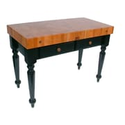 John Boos Rouge et Noir Prep Table; 48'' W x 24'' D / 1 Included