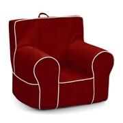 KidzWorld Kids Foam Chair; Red
