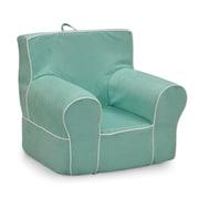 KidzWorld Kids Foam Chair; Aqua