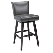 Sunpan Modern West Vintage 30'' Swivel Bar Stool; Grey