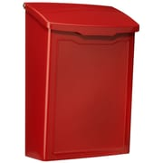 Architectural Mailboxes Marina Wall Mounted Mailbox; Red