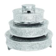 Urban Designs Event Essentials 4 Piece Round Wedding Cake Stand Set