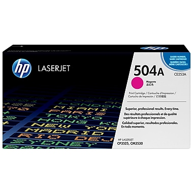 HP 504A (CE253A) Magenta Original LaserJet Toner Cartridge