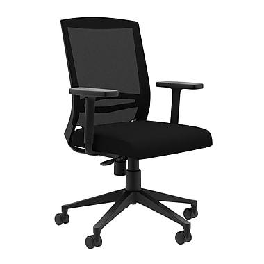Compel Office Furniture Derby Mesh Desk Chair; Chalk